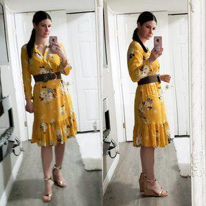 Old Navy * Floral Prairie Dress * Sz M